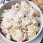 Salata de cartofi cu sunca