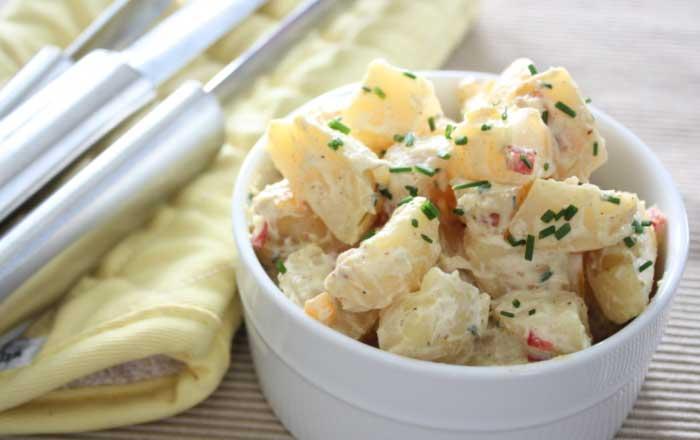 salata de cartofi taraneasca reteta