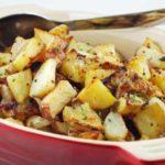 Cartofi copti cu mustar (reteta la cuptor)