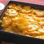 Cartofi prajiti la cuptor cu cascaval (sau mozzarella)