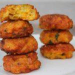 Chitele de dovlecel cu cartofi (reteta de post)