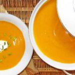 Supa crema de cartofi dulci (reteta cu smantana)