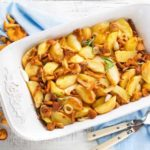 Cartofi la cuptor cu ciuperci (reteta de post)