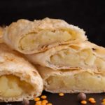 Placinta cu branza si cartofi (reteta cu branza cheddar)